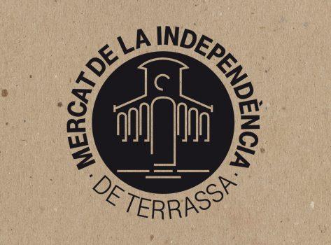imatge corporativa mercat de la independència terrassa