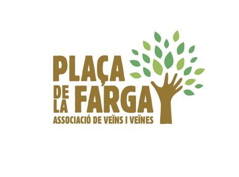 logotip associació plaça farga barcelona